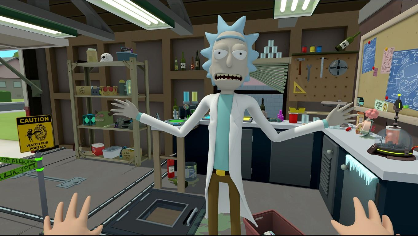 Rick And Morty: Virtual Rickality | Owlchemy Labs
