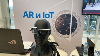 Photo of New Augment Reality (AR) glasses from KONICA MINOLTA